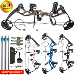 10-40 lbs Topoint Kids Youth Compound Bow Right Hand Kit Hun