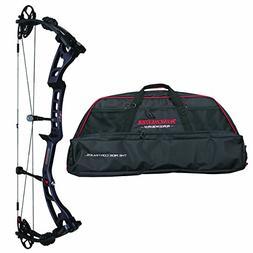 Winchester Archery 11460RHCW Black Horse Carbon Weave Black