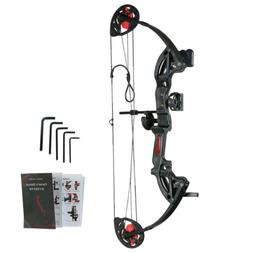 12-26lbs Black Compound Bow Archery Hunting Right Hand for Y