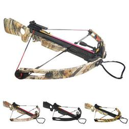 150 lb Black / Camouflage Camo Compound Hunting Crossbow Bow