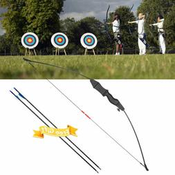 15lbs Traditional Hunting Archery Straight Bows for Child Ki