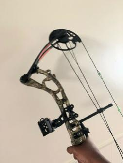 """2 Bear Archery Salute RTH Compound Bow 300 FPS 20-30"""" 50-7"""