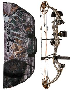 New 2017 Bear Archery Cruzer G2 RTH 5-70# RH Realtree Xtra P