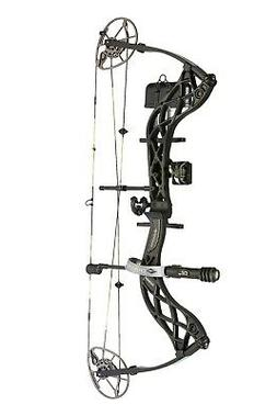 NEW Diamond Carbon Deploy SB Compound Bow Package RH 70lbs W