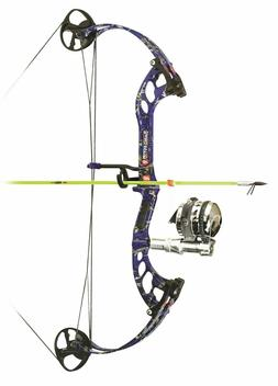 2018 PSE Mud Dawg Orange Compound Bow Right Hand 30-40# Reel
