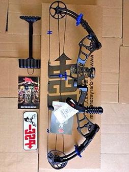 PSE 2018 STINGER EXTREME CUSTOM BLACK/HOT BLUE PACKAGE 40-70