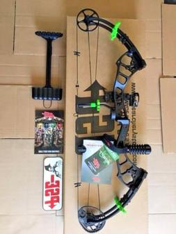 PSE 2018 STINGER EXTREME CUSTOM BLACK/HOT GREEN PACKAGE 40-7
