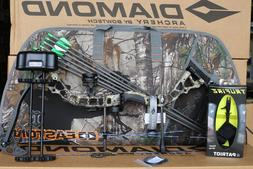 2019 Diamond Bowtech Infinite Edge Pro RH CAMO Bow UPGRADED