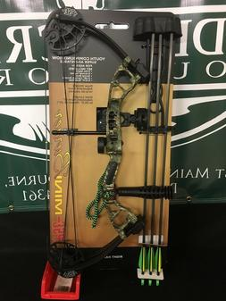 2020 PSE Archery Mini Burner 14-40lb Mossy Oak Country RTS P