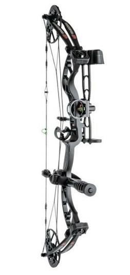 2019 PSE Uprising RTS Compound Bow Package Black 15-70 lbs R