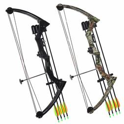 20lbs Aluminum Traditional Compound Bow Archery Hunting Fish