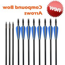 """26""""-30"""" Target Practice Fiberglass Arrows for Archery Compou"""