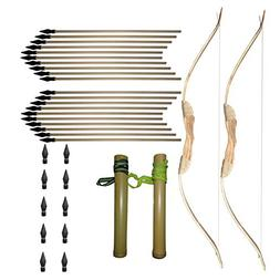 Sakiyaye Sam - 32'' Long Boys Archery Toy Handmade Wooden Bo