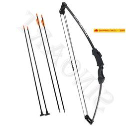 "Sinoart 35"" Junior Compound Bow And Arrow Archery Set With 4"