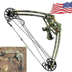 40lbs Archery Triangle Compound Bow Right Left Hand Hunting