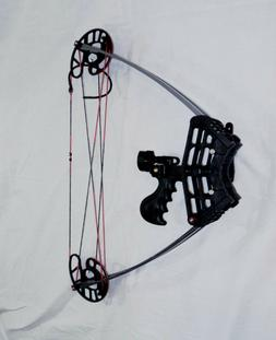 """50 lbs Delta Hunting bow, Only 22"""" from axle to axle BLACK"""