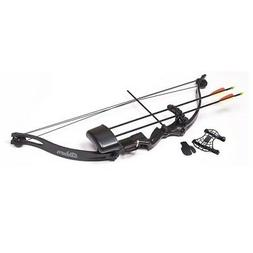 Crosman ABY1721 Elkhorn Jr Junior Compound Youth Bow Black
