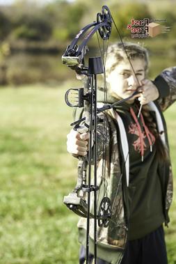 Adjustable 45-Pounds Youth Archery Compound Bow Arrow Set fo