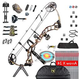 Compound Bow, for Adults, Archery Bow Set, Hunting Equipment
