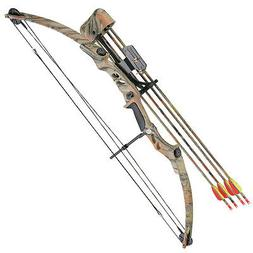 Outdoor Adventure Autumn Camo Wild Turkey Archery 55 LBS Com
