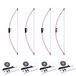 SA Sports Antelope Youth Recurve Bow Sets, 4-Pack, with Arro