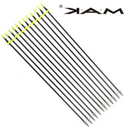 "Archery 32"" Fishing Arrows 8MM For Compound bow Under 70lbs"