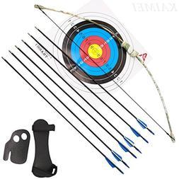 kaimei 37Inch Archery Bow and Arrow Set Recurve Bow camoufla