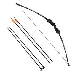 "Sinoart 45"" Archery Bow and Arrow Set Start Recurve Bow Outd"