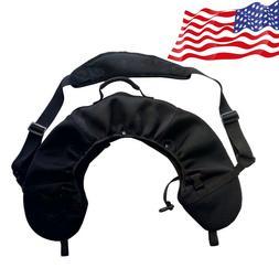 Archery Bow Sling Carrier Case Bag Backpack Cover Belt Stora