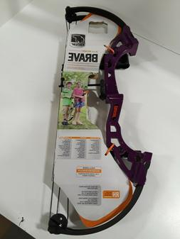 Bear Archery Brave Purple/Black Youth Bow Package AYS300PL