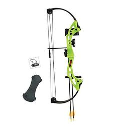 Archery Brave Youth Bow Includes Whisker Biscuit, Arrows, Ar