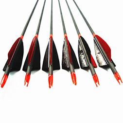 MS Jumpper Archery Carbon Arrows, High Percentage Carbon-Fib