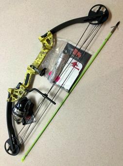 "PSE Archery Discovery 30"" Bow Fishing  29-40 Muzzy Yellow RH"