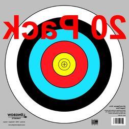 Archery 40cm & 80cm Targets by Longbow )