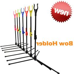 Archery Recurve Bow Stands Compound Bows Holder Outdoor Shoo
