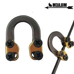 archery release metal d loop bow ring
