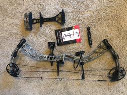Velocity Archery Retribution Compound Hunting Bow - Camo