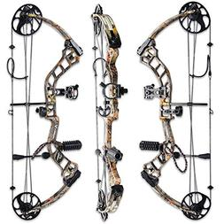 TOPOINT Archery Trigon Compound Bow Bare Bow+Accessories Kit