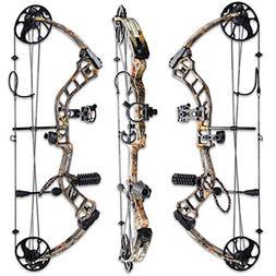 TOPOINT Archery Trigon Compound Bow Bare Bow+Accessories Kit
