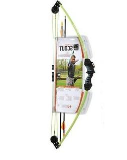 Escalade Sports AYS6000GR Scout Neon Green Youth 13lb Huntin