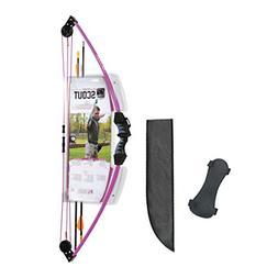 Bear Archery AYS6000PL Scout Youth Bow Set, Purple