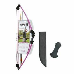 Bear Archery AYS6000PL Youth Scout Bow Set, Purple