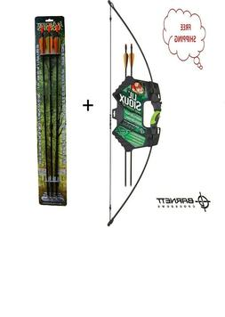 Barnett Lil Sioux Jr Recurve Childrens Bow and Arrow Set 107