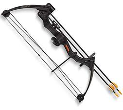 Compound Bow Package Bear Archery Brave Black Youth AYS300BR