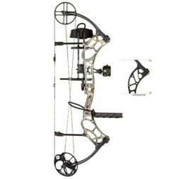 Bear Archery Wild RTH 70# Right Hand Bow Package Shadow Blac