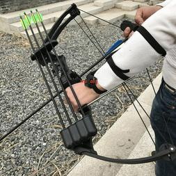 Black 20lbs Traditional Compound Bow JH7474 Hunting Archery
