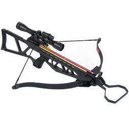 black hunting crossbow bow