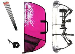 Diamond Bowtech Infinite Edge SB-1 BLACK & PINK Bow Package