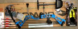 Diamond Bowtech PRISM Bow RH Infinite Edge BLUE Package W/QU