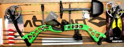 Diamond Bowtech PRISM Bow RH Infinite Edge GREEN Package W/Q